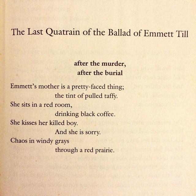 emmett till poem gwendolyn brooks